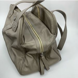 lululemon athletica Bags - LULULEMON two times a yogi gray gym bag